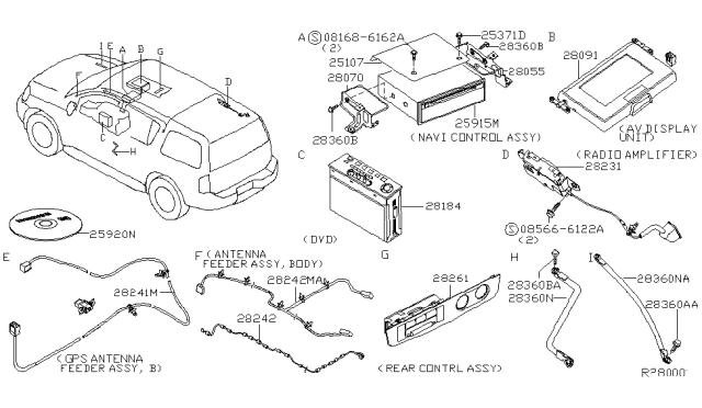 2004 Nissan Armada Wiring Diagram : 2004 Nissan Armada