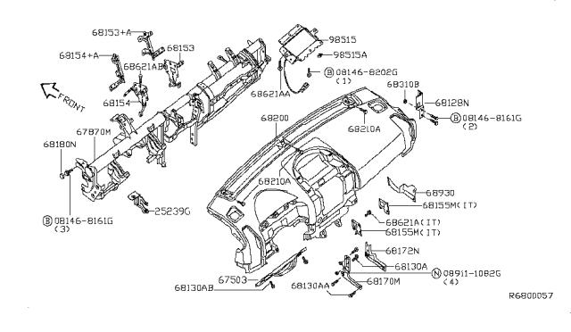 2007 Nissan Armada Fuse Box Diagram / Fuse Box Location