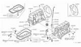 1984 Nissan 720 Pickup Cylinder Block & Oil Pan