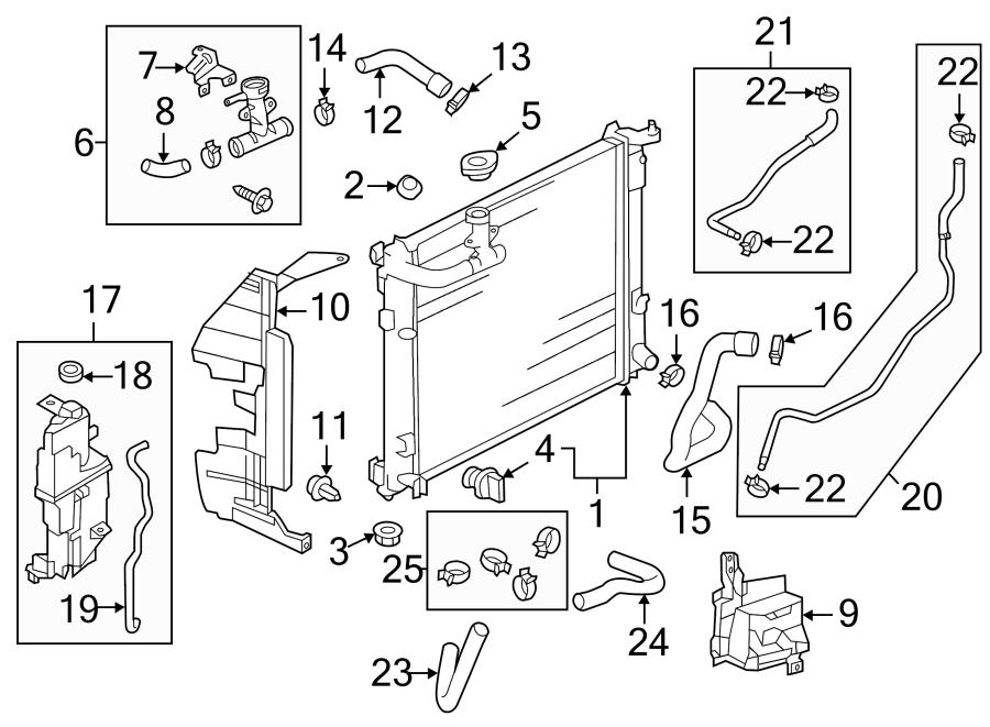 Nissan Versa Radiator Support Baffle (Right, Upper). Sedan