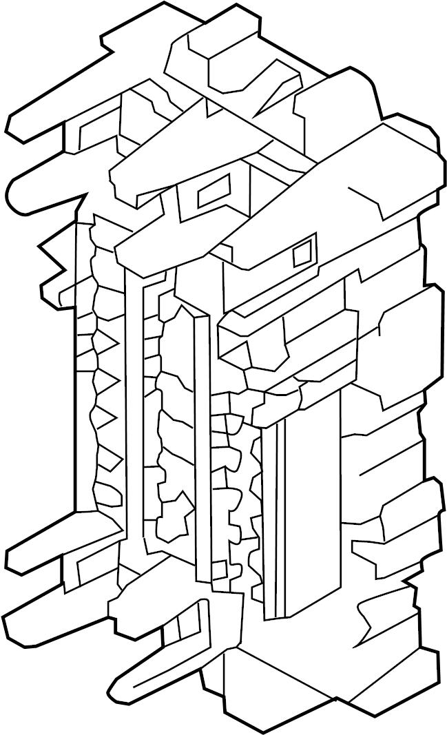 2014 Nissan Sentra FE+SV Sedan Fuse. Block. Box. Relay. A