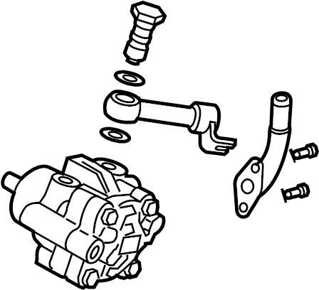 Nissan Sentra Power Steering Pump. POWER STEERING pump