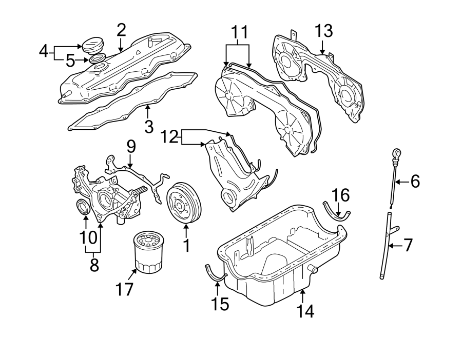 Nissan Pathfinder Engine Oil Dipstick. 3.3 LITER. TO 1/00