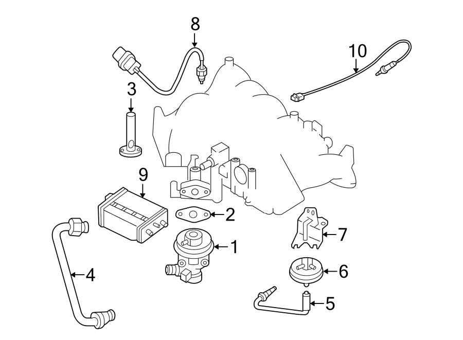 Nissan Frontier Oxygen Sensor. EMISSION, Make, Repair
