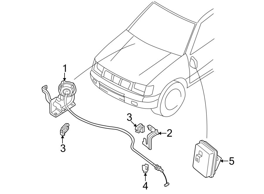 Nissan Xterra Clip. Actuator. Cruise. Control. Cable