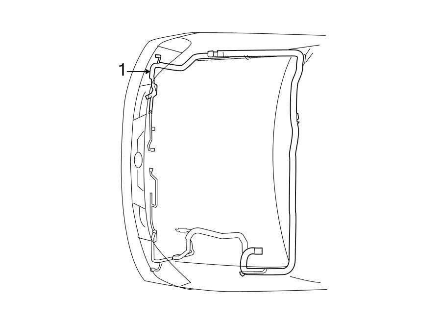 Nissan Armada Engine Wiring Harness. 4WD, SE w/o flex fuel