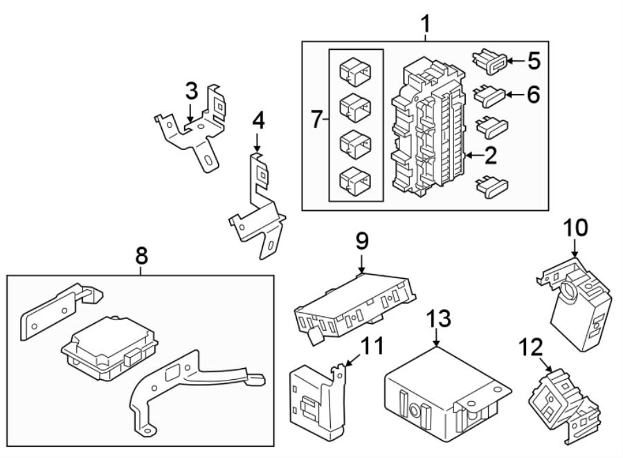 Nissan Armada Body control module. Controller assembly