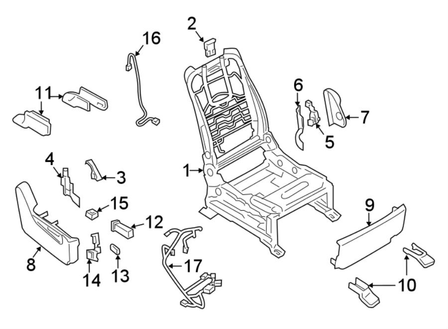Nissan Armada Power Seat Wiring Harness. FRAME