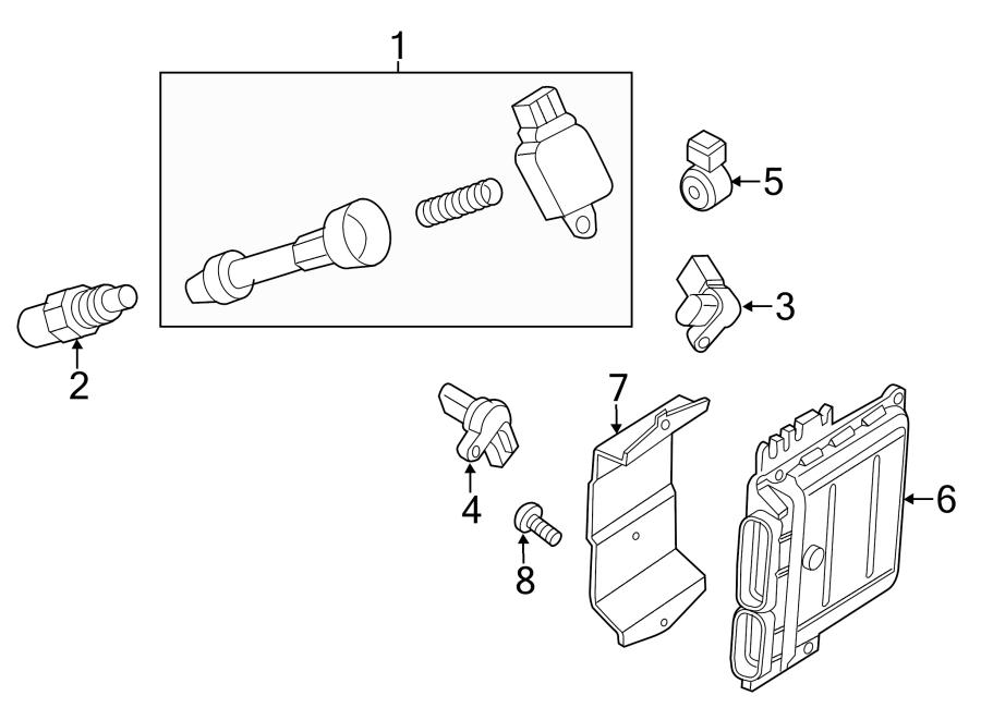 Nissan Frontier Sensor. Position. Camshaft. Crankshaft