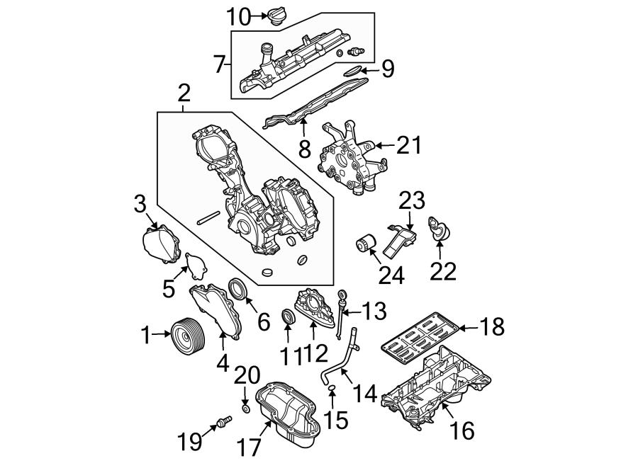 Nissan Pathfinder Engine Valve Cover. Left, LITER, Full