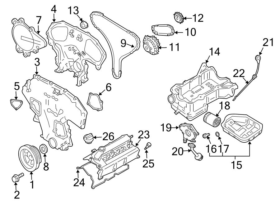 Nissan Xterra Engine Valve Cover Gasket. Left, BEARINGS