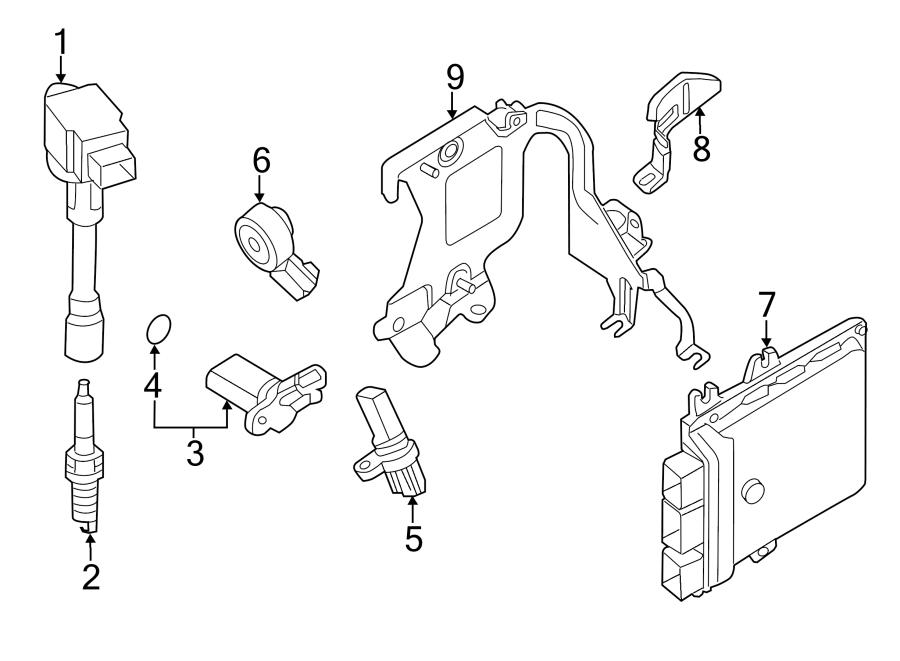 Nissan Pathfinder Direct Ignition Coil. Liter, System