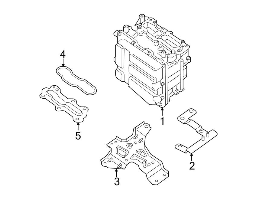 Nissan Pathfinder Drive Motor Inverter. INVERTER