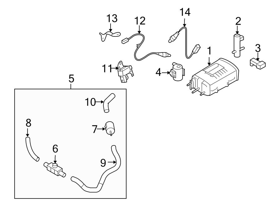 Nissan Cube Bracket. Sensor. Oxygen. 1.8 liter