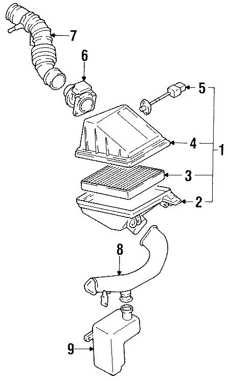 Nissan Sentra Air Charge Temperature Sensor. ENGINE