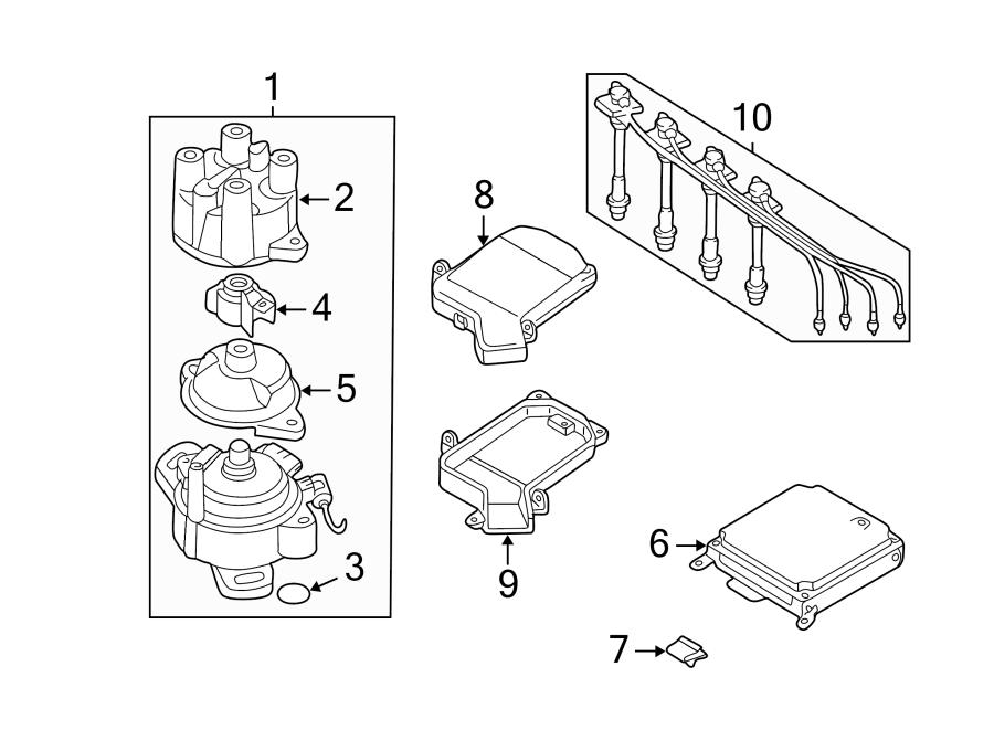 Nissan Sentra Distributor Rotor. 2.0 LITER. G20. Sentra