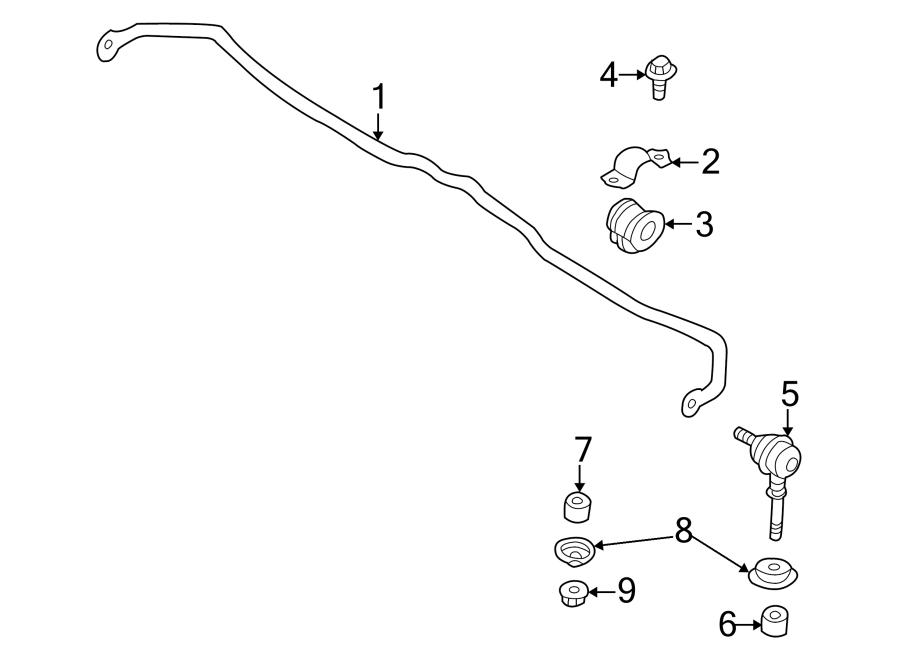 Nissan Sentra Link. Stabilizer. Bar. Kit. Suspension. ROD
