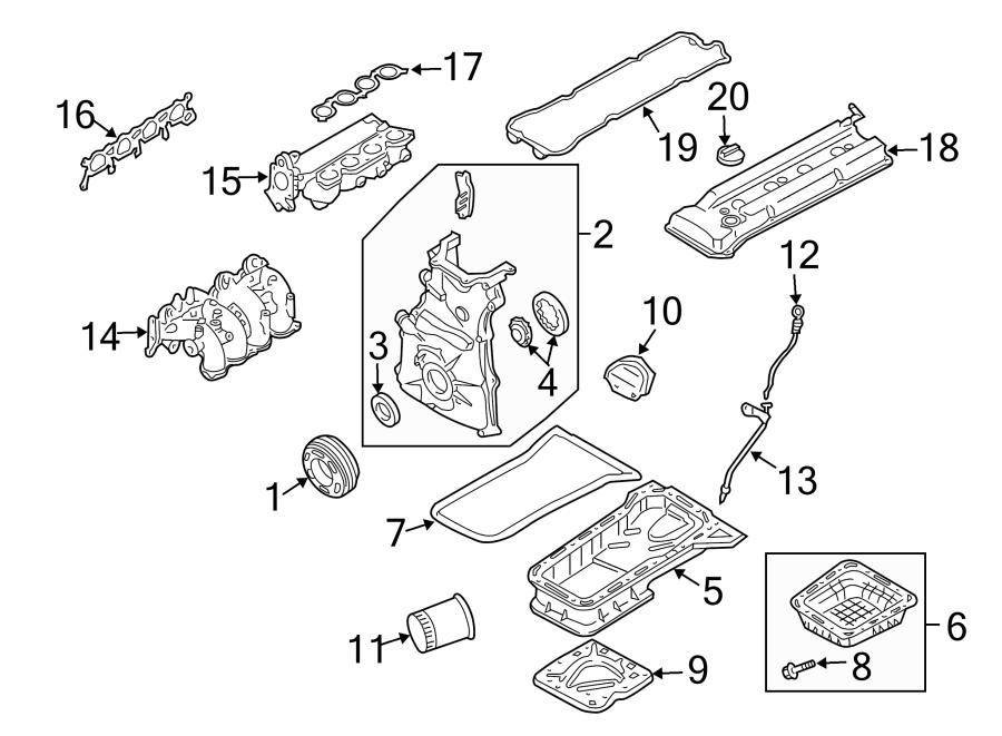 Nissan Sentra Engine Oil Pump Rotor. 2.5 LITER. Altima