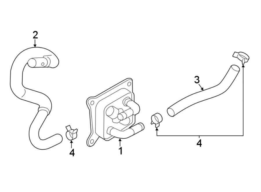 Nissan Sentra Engine Coolant Hose. 1.6 LITER, #2, auto