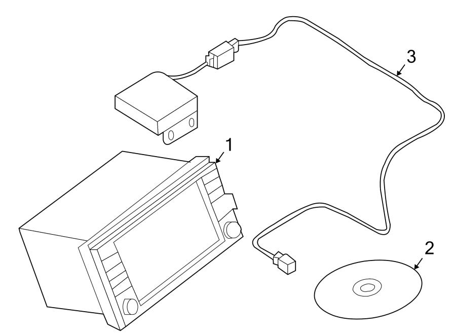 Nissan Altima Gps navigation system. Kit, sedan, hybrid