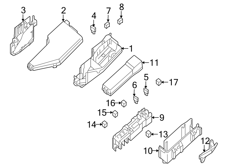Nissan Altima Relay. Link. Accessory Power. Connector