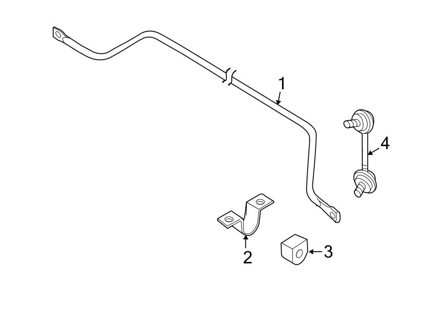 Nissan Altima Suspension Stabilizer Bar. Liter, CONTROL