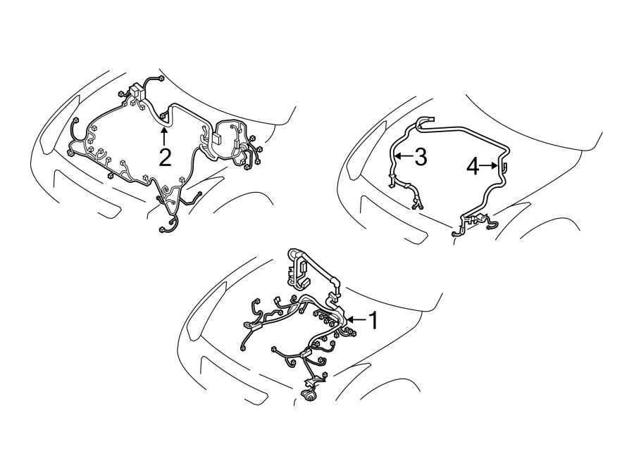 Nissan GT-R Engine Wiring Harness. EGI. Telematics