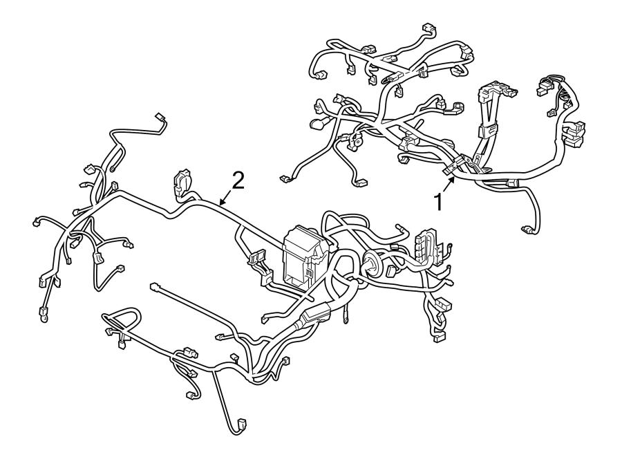 Nissan Versa Engine Wiring Harness. Manual trans, sedan