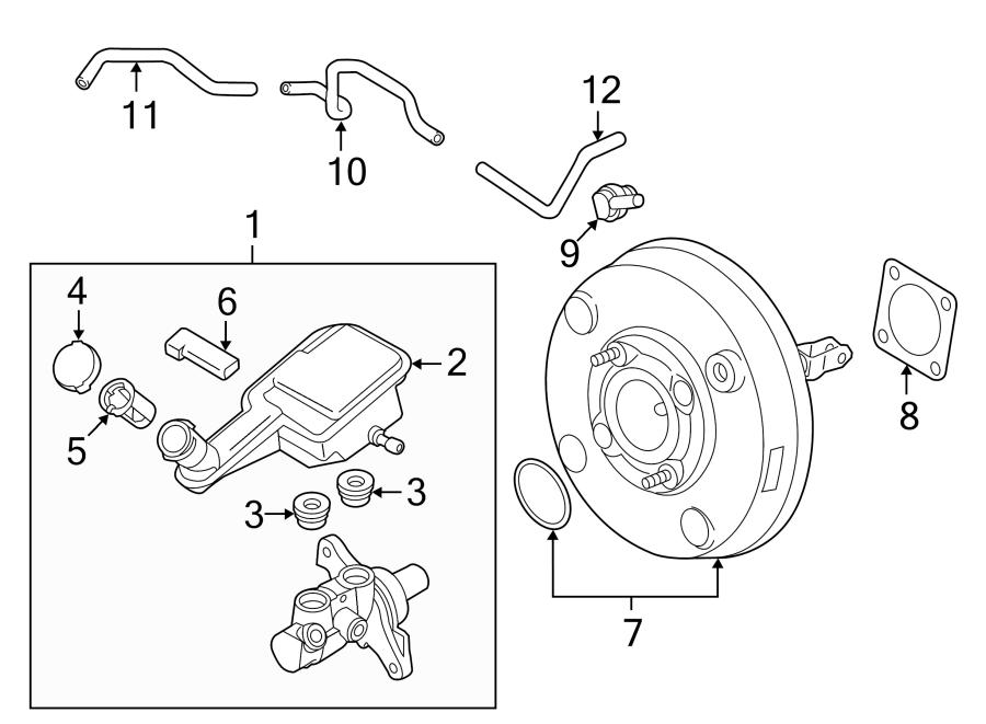 Nissan Versa Note Brake Master Cylinder Reservoir. Replace