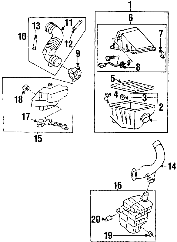 Nissan Altima Air Filter. LITER, ENGINE, INTAKE