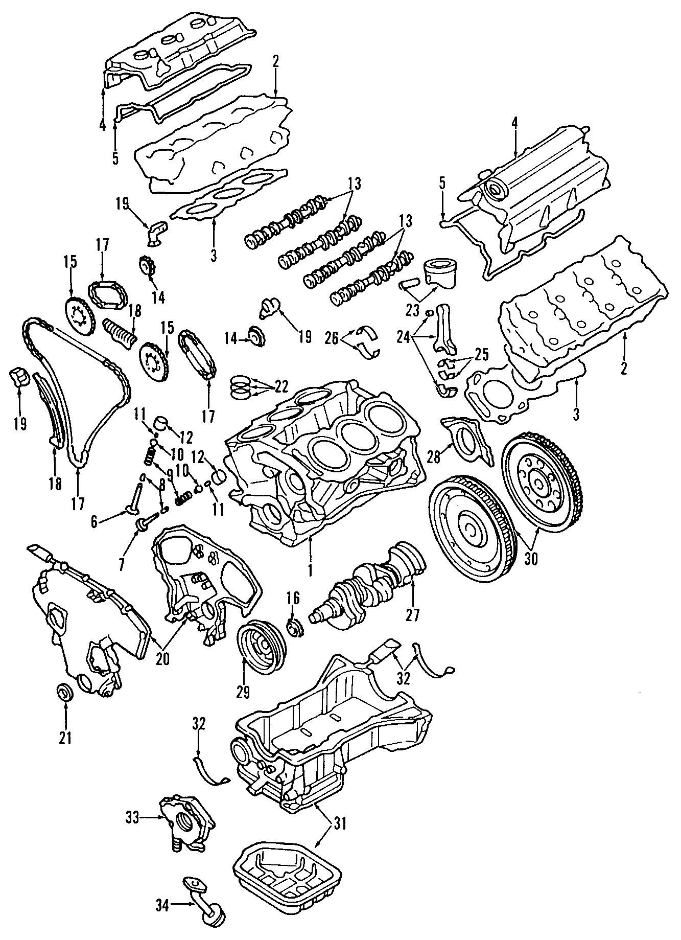 Nissan Altima Engine Variable Valve Timing (VVT) Solenoid