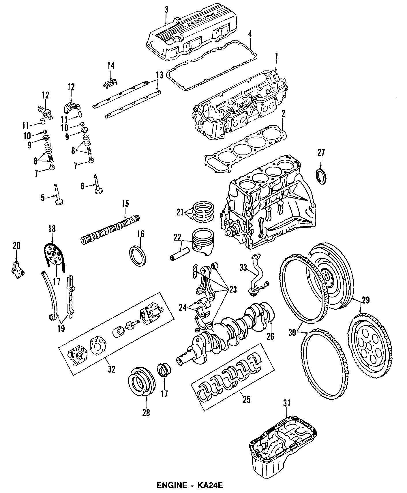 Nissan 240SX Engine Valve Stem Oil Seal. Exhaust, Pick