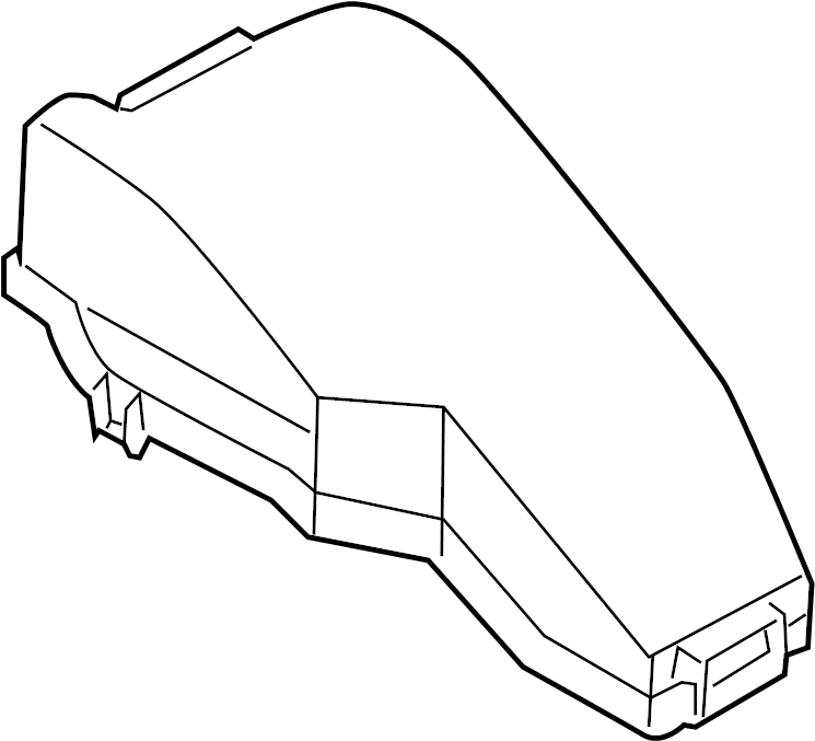 Nissan Murano Fuse Box Cover. ENGINE COMPARTMENT