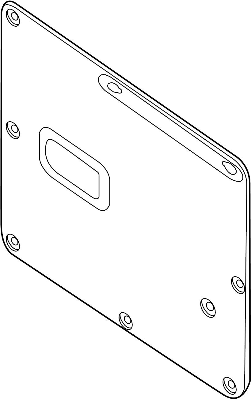 Nissan NV1500 Door Interior Trim Panel. CARGO VAN, 1500