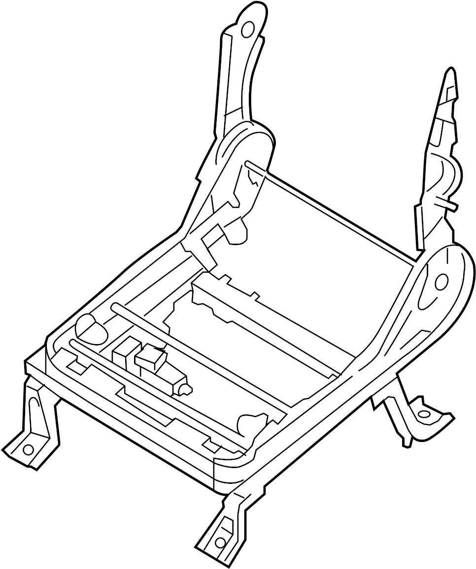 Nissan Armada Seat Adjuster. Almond, Right, POWER