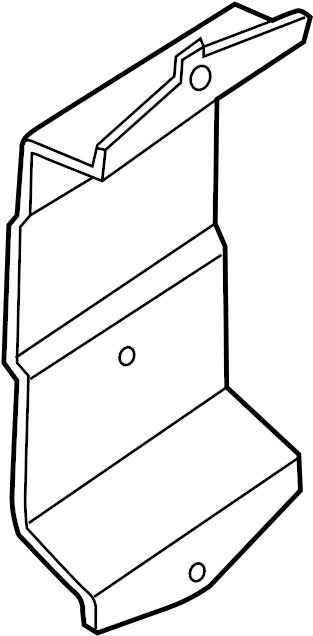 Nissan Xterra Engine Control Module Bracket. 2.5 LITER. 4
