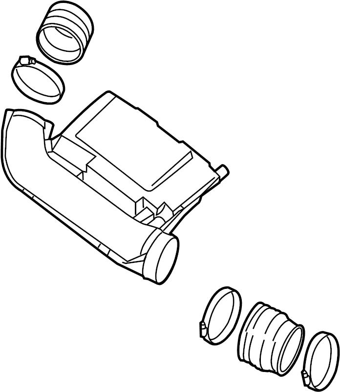 Nissan Xterra Engine Air Intake Hose. 4.0 LITER. Duct