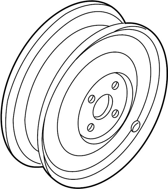 Nissan Pathfinder Wheel. Spare, Steel, Steering