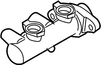 Nissan Frontier Brake Master Cylinder. Trans, Manual