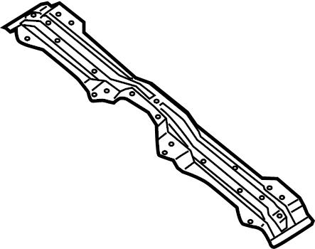 Nissan Xterra Floor Pan Crossmember. W/O SUNROOF. W