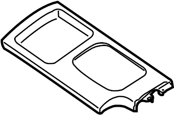 Nissan Xterra Panel. Trim. Manual trans. Manual trans