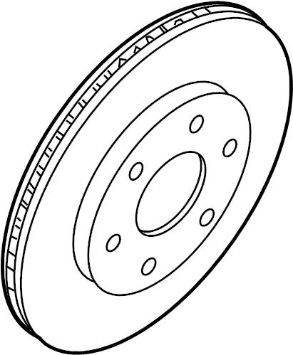 Nissan Pathfinder Disc Brake Rotor. Left, Make, Replace