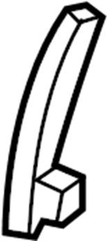 Nissan Xterra Seat Back Recliner Adjustment Handle. BAG