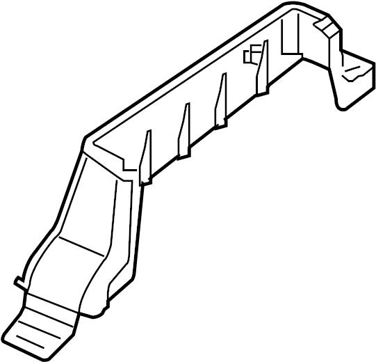 Nissan Xterra Seat Track Cover. PASSENGER, Graphite, POWER