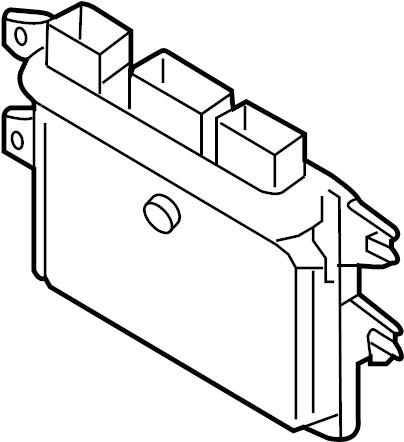 Nissan Cube Engine Control Module. Cube; All; Federal