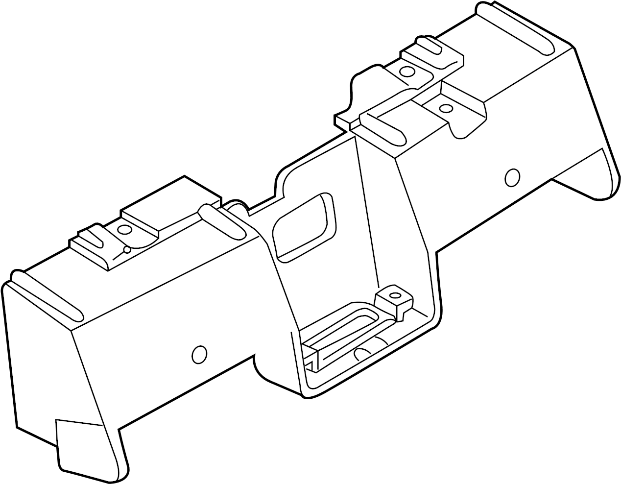 Nissan 350Z License Plate Light Assembly Bracket. Track