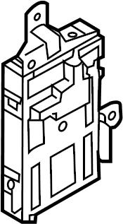 Nissan 370Z Body Control Module. ELECTRICAL, Make