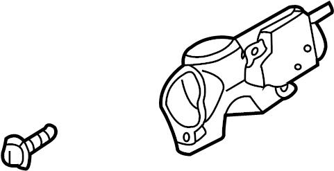 Nissan Sentra Steering Column Lock. Auto trans. Sentra