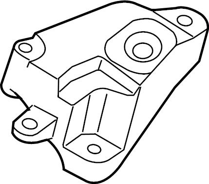 Nissan Sentra Manual Transmission Mount Bracket. 2.0 LITER