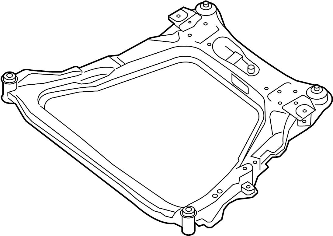 Nissan Sentra Engine Cradle (Front). 2.0 liter. Sentra; 2